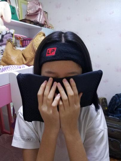 LP661 棉质头部汗带 运动头带头巾 黑色 晒单图