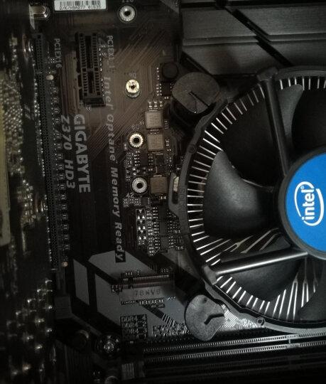 英特尔(Intel)酷睿i5 8400/9400F盒装处理器cpu主板套装显卡内存条台式机电脑硬件 技嘉 B360大板 i5 9600KF六核【3.7GHz 不带集显】 晒单图