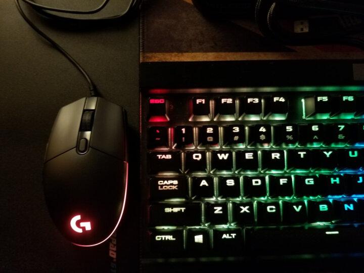 罗技(G)G102 游戏鼠标 6000DPI RGB鼠标 黑色 吃鸡鼠标 绝地求生 晒单图