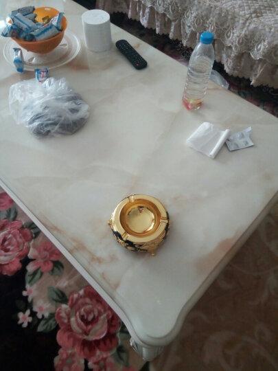 就爱我吧 烟灰缸 大号复古烟灰缸创意个性时尚复古欧式烟灰缸 多尺寸可选 杯垫镂空 晒单图