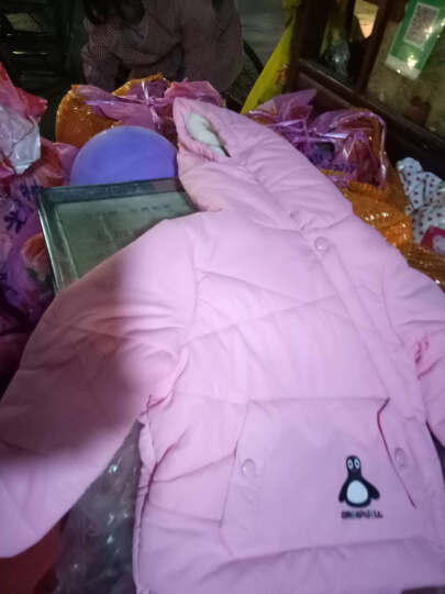 宾陆(BEONNLTO) 宾陆童装宝宝棉服儿童棉袄男女童加厚保暖中小童外套棉衣上衣冬装 蓝色 120# 晒单图