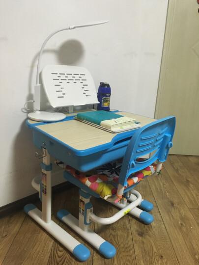 童星(tongxing) 儿童学习桌椅套装小学生书桌小孩写字桌子可升降作业桌椅写字台家用 A02大容量桌兜粉色成长+阅读架 晒单图