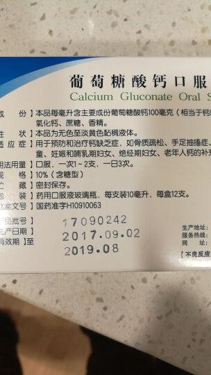 三精牌 葡萄糖酸钙口服溶液12支(含糖型)蓝瓶儿otc 【1盒装】 晒单图