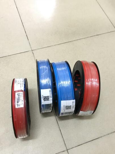 正泰(CHNT) 电线电缆 1.5平方 蓝色 100米单股铜照明电源线 晒单图
