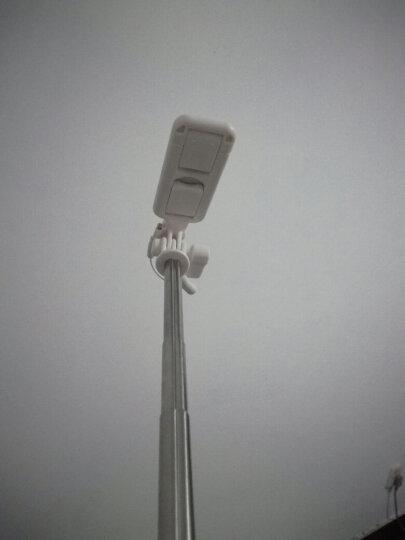 洛克(ROCK)苹果专用自拍杆 Lightning线控自拍神器/迷你大镜面 适用于iPhone8/X/7 Plus/6s手机 粉色 晒单图