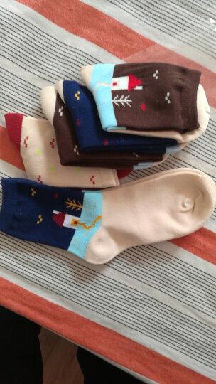 南极人童装 1-12岁儿童袜子男童女童棉袜春秋冬季五双装 宝宝小孩男孩女孩纯棉袜子 卡通小山村 18cm(10-12岁) 晒单图