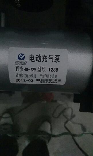 海飞跃 真空胎电动车充气泵便携电动打气筒轮胎打气泵48v60v72v96v应急电动充气泵 真空胎专用48V至72V电压之间 晒单图