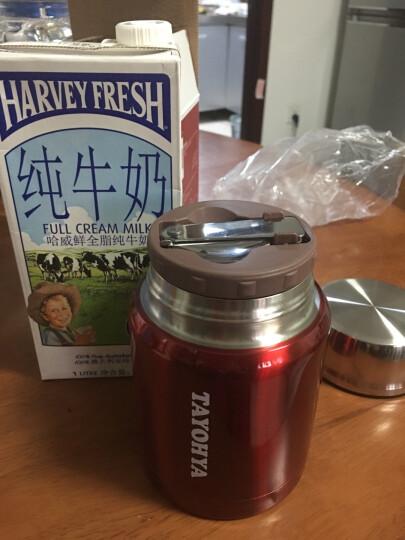 多样屋不锈钢真空焖烧杯 小容量儿童学生便当饭盒闷烧罐保温壶粥桶 红色 晒单图