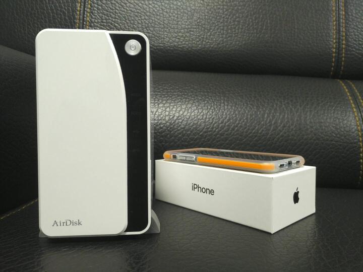 AirDisk存宝S6网络移动硬盘盒照片存储移动备份家庭用NAS云文件服务器私有云手机云盘中心网盘 S6+2TB*2硬盘 晒单图