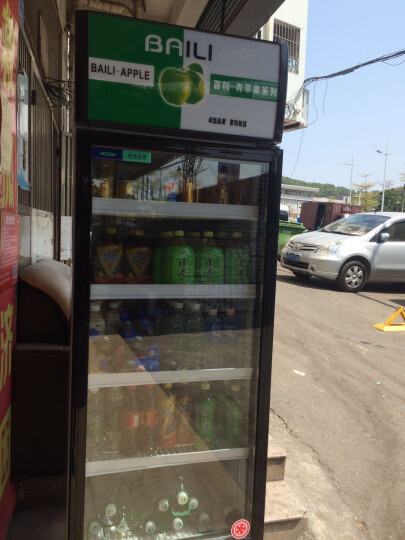 百利(BAILI) 308升立式冷藏展示柜商用冷柜 保鲜水果蔬菜柜饮料陈列柜冰柜大容积LC-308 晒单图