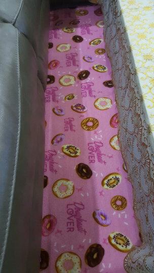 惠多 卡通创意甜甜圈地垫长条防滑厨房垫防水防油脚垫可爱甜美进门地垫个性潮流垫 卡通甜甜圈 45*150CM 晒单图