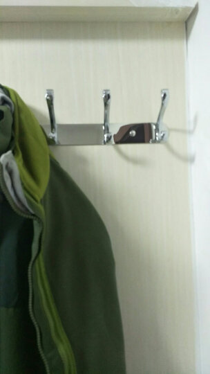 不锈钢衣服挂钩衣挂排钩试衣间墙壁壁挂衣架客厅墙上衣帽钩挂衣钩 红古铜10钩(95cm) 晒单图