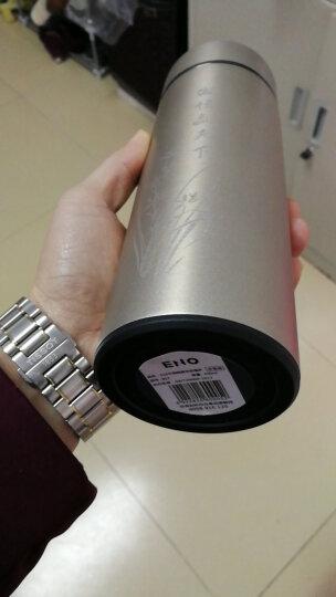 ENO 商务保温杯 男士 带滤网茶杯 便携 304不锈钢水杯 泡茶杯子 车载定制礼品杯 魔影红马到成功礼盒装 晒单图