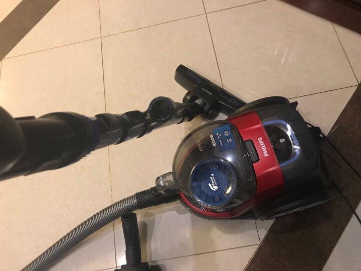 飞利浦(PHILIPS) 吸尘器家用大功率小型静音除螨吸尘器 火焰红FC9516/81 晒单图