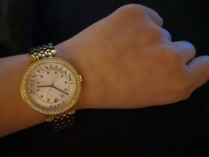约翰·加利亚诺 (JOHN GALLIANO) VERY GALLIANO 系列手表石英机芯钢带女士腕表R2553132503 晒单图