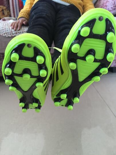 leoci 足球鞋 碎钉 男女 成人青少年儿童AG钉TF长钉训练鞋 学生比赛运动鞋45大码短钉鞋 8362 蓝 碎钉 37 晒单图