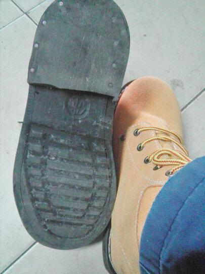 查理斯顿劳保鞋男轮胎底耐高温防砸防刺耐磨电焊鞋工作鞋 41 晒单图