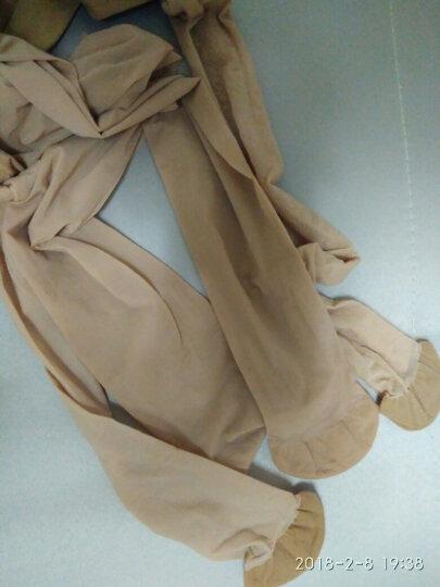 一统红雨伞丝袜女夏季薄款3D无缝苹果臀透气天鹅绒女丝袜连裤袜防勾丝 1双浅肤色均码(R388225) 均码 晒单图