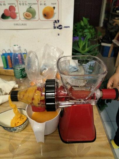 佐优 手动榨汁机家用慢速手摇原汁水果蔬菜果汁机 榨汁冰激凌机二合一 晒单图