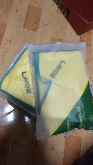 【买一送一】LAVOR 拉瓦洗车毛巾吸水加厚大号细纤维擦车抹布汽车清洗用品 40*40+33*70+60*160三条装 晒单图
