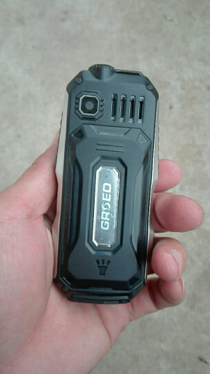 亚奥星 迷你6800 移动联通2G 老人手机 三防电霸超长待机 黑色 晒单图