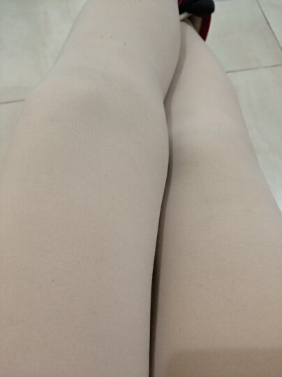 彼泽肉色打底裤女外穿加绒加厚秋冬季光腿神器踩脚一体紧身裤肤色 肤色连脚 均码(高弹力) 晒单图