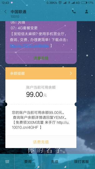 【广东联通】1元日租卡手机卡电话卡联通卡上网卡(1元/天享800M,可升级全国流量) 晒单图