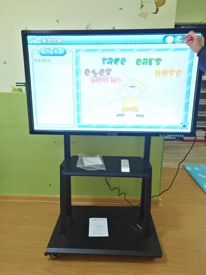 YCZX 多媒体教学一体机会议触摸屏电视电脑电子白板触摸一体机壁挂幼儿园商显触控机广告机 55英寸触摸一体机 i5/4G/120G固态 晒单图