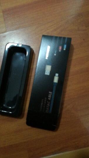 蒙奇奇 数据线苹果充电线手机快充电源线 适用iphone6/6s/7 Plus/8/x/ipad 牛仔蓝0.25米 晒单图