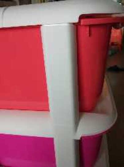 雅美乐 塑料收纳柜 四层抽屉柜 衣物玩具收纳箱 Y504 晒单图