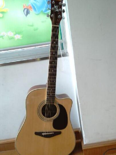 Jackson 缺角41寸民谣木吉他 缺角吉他箱琴 六弦琴 沙比利背侧板 初学入门  D-10C  晒单图