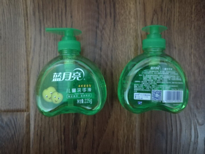 蓝月亮 儿童 宝宝洗手液(青苹果)225g/瓶 晒单图