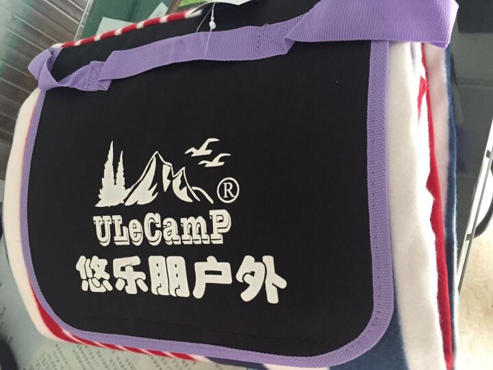 悠乐朋(Ulecamp)户外野餐垫 便携防潮垫沙滩垫防水加宽帐篷垫草坪垫踏春游地垫KC-02HB 晒单图
