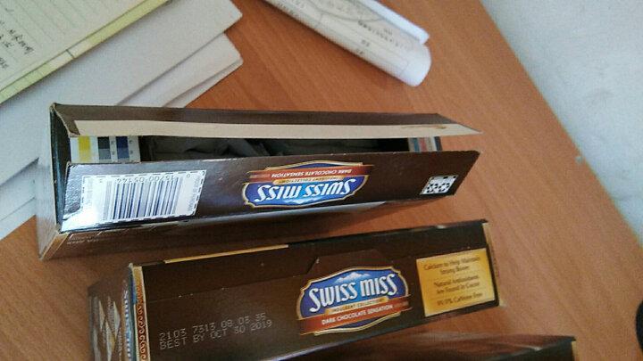 美国进口swiss miss瑞士小姐冷巧克力冲饮粉浓情特浓棉花糖牛奶可可粉 棉花糖272g一盒 晒单图