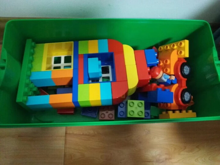 LEGO乐高 Duplo得宝系列 益智儿童大 颗粒积木玩具 创意拼插 比萨店 10834 晒单图