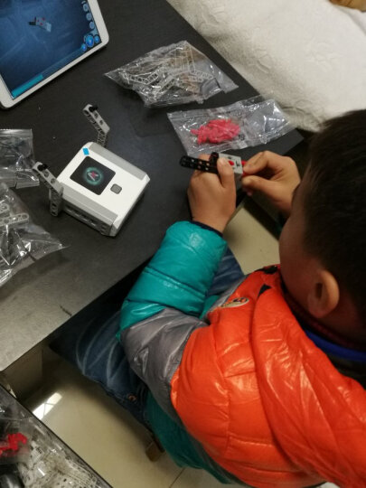 2017款氪1号能力风暴教育机器人 积木系列 新年礼物送儿童 (AI 智能 编程) 晒单图