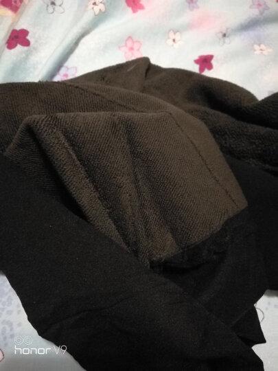 皮尔卡丹连裤袜女打底裤袜 1000D二代无缝竹炭纤维双层拉毛保暖连裤袜 1双装 黑色均码 晒单图