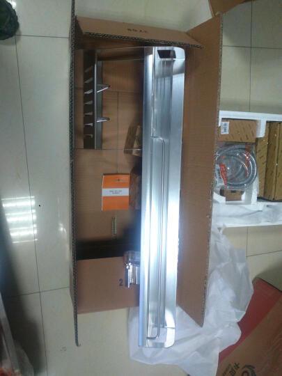 卡贝太空铝厨房挂件置物架壁挂五金刀架调料挂架 B2双杯60cm●¥199 晒单图