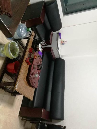 黎富办公家具办公沙发客厅午休办公室沙发三人位沙发茶几组合办公商务接待沙发 3+1沙发 西皮 晒单图