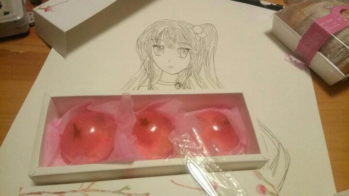 包邮樱花果冻礼盒装樱花果冻布丁生日 颜值礼物 3枚礼盒装+樱花勺+蜂蜜包 晒单图
