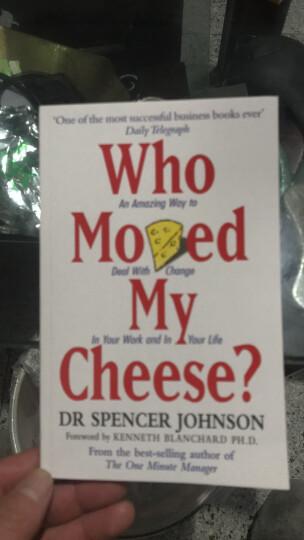 【中商原版】英文原版WHO MOVED MY CHEESE谁动了我的奶酪 斯宾塞·约翰逊 晒单图