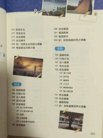 畅游世界:畅游台湾,看这本就够了 晒单图