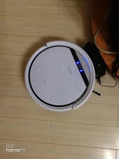 ILIFE智意扫地机器人扫拖一体超薄智能自动吸尘器家用V3P 珍珠白 晒单图