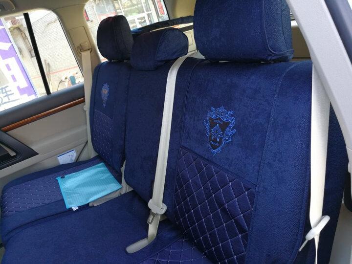 威威汽车座套全包轩逸卡罗拉朗逸凯美瑞威朗XRV途观速腾起亚K3宝骏560宝来英朗坐垫座垫 CK15135黑色 7座车型 晒单图