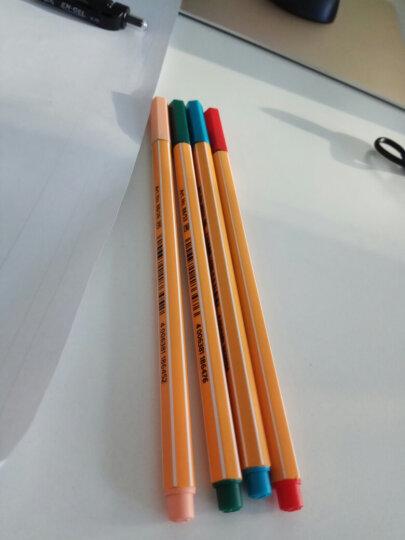 思笔乐(STABILO) 德国思笔乐乐点88纤细笔 彩色水笔 纤维头0.4mm 51-土耳其玉 单支装 晒单图