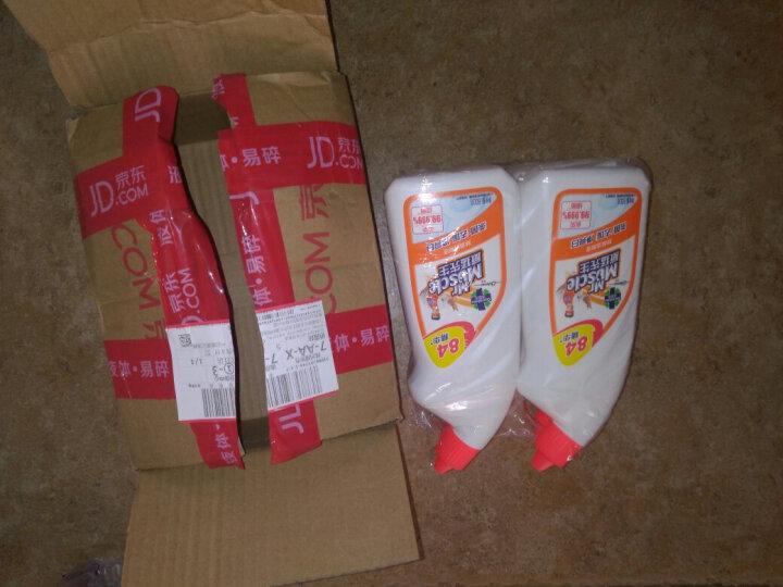 威猛先生 除菌洁厕液 淡雅花香 四包装 (500g+100g)*4 洁厕灵 洁厕精 含84精华 除臭 去味 新老包装随机发货 晒单图