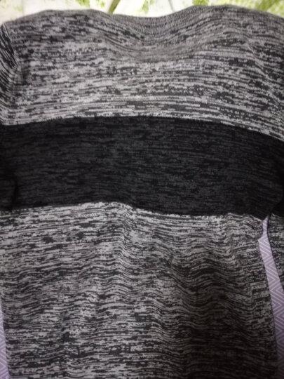 lee lff毛衣男士2017秋冬季简约圆领长袖t恤男款加绒加厚卫衣 浅灰(加绒款) XL(135-150斤) 晒单图