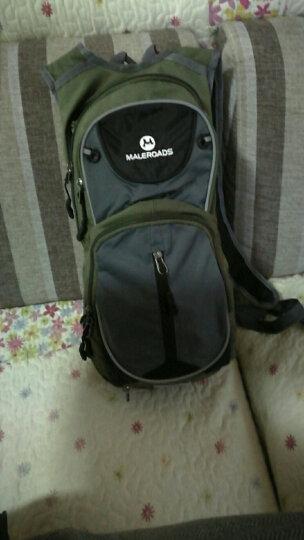 迈路士多功能单车双肩背包自行车骑行包男女旅行包水袋背包户外包 升级版灰色(20L) 晒单图