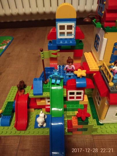 欢乐客 儿童积木玩具 早教启蒙拼装玩具兼容乐高大颗粒益智塑料拼插3-4-5-6周岁我的世界 豪华版200颗粒+收纳凳+底板 晒单图