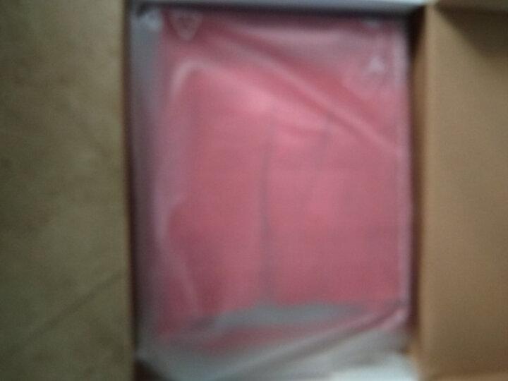 织乎秋冬新款纯色山羊绒衫女高领修身加厚套头毛衣女装针织打底衫 正红色 L 晒单图